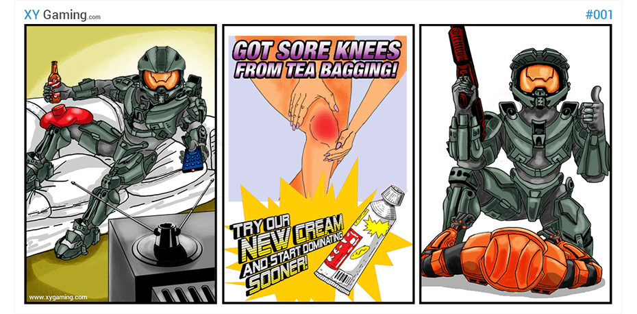 halo comic picture