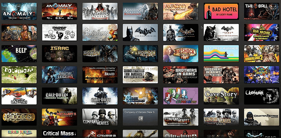 steam games image