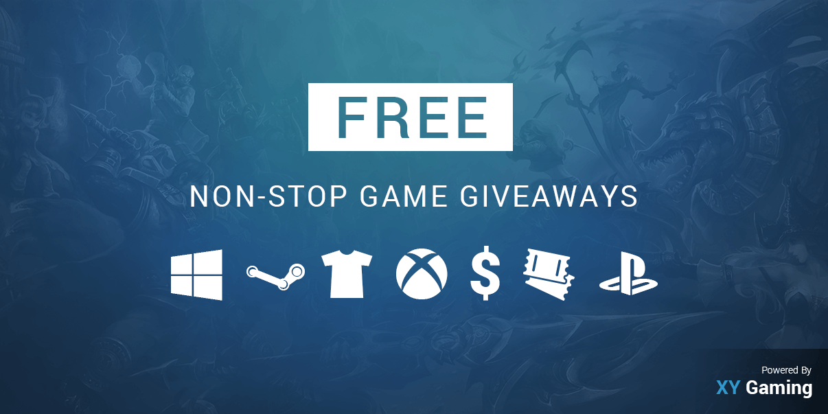 XY Gaming's Free Non-Stop Video Game Giveaways!
