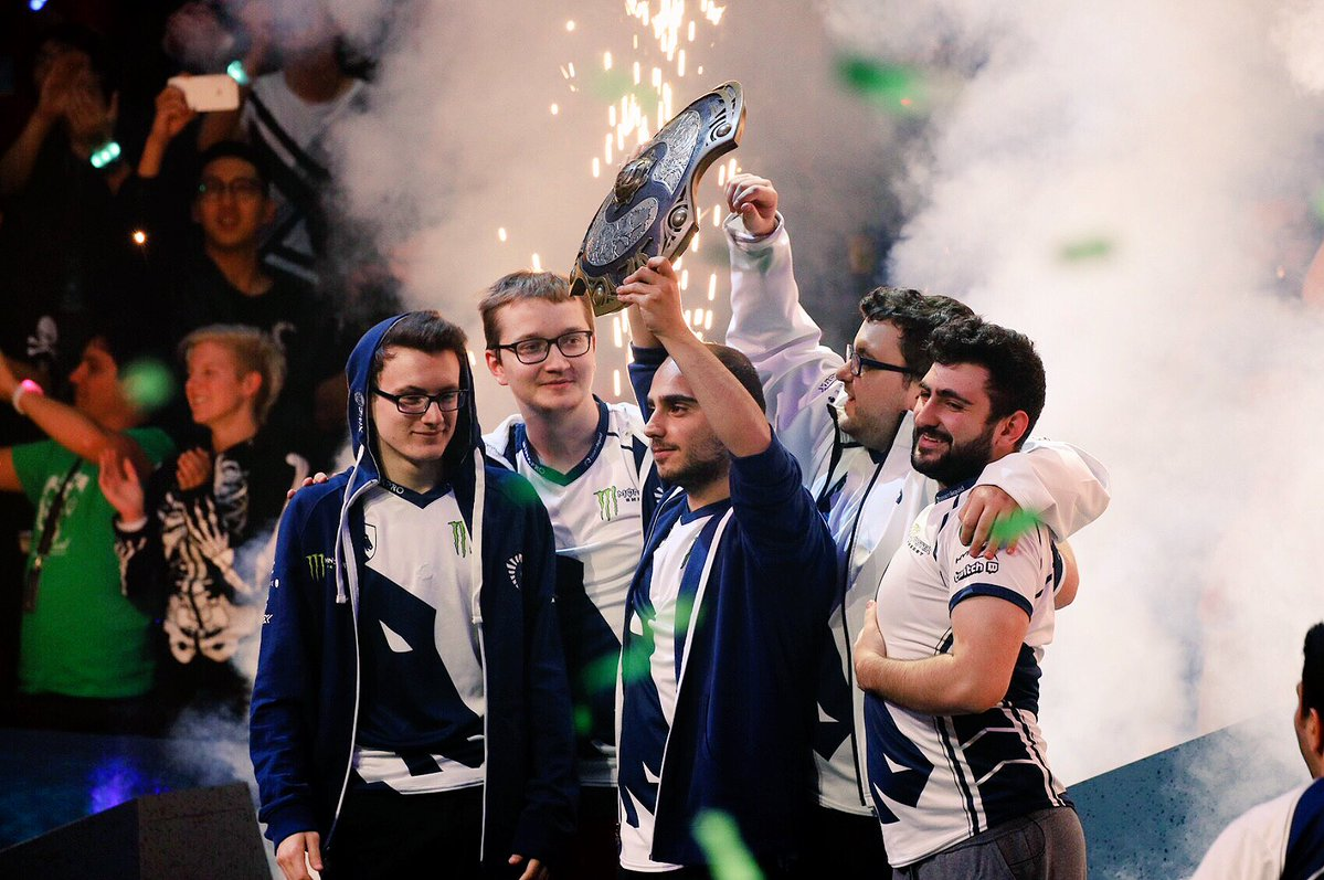 Team Liquid from NA took home the $10,862,683 for first place pocketing each player over $2.1 million in cash.