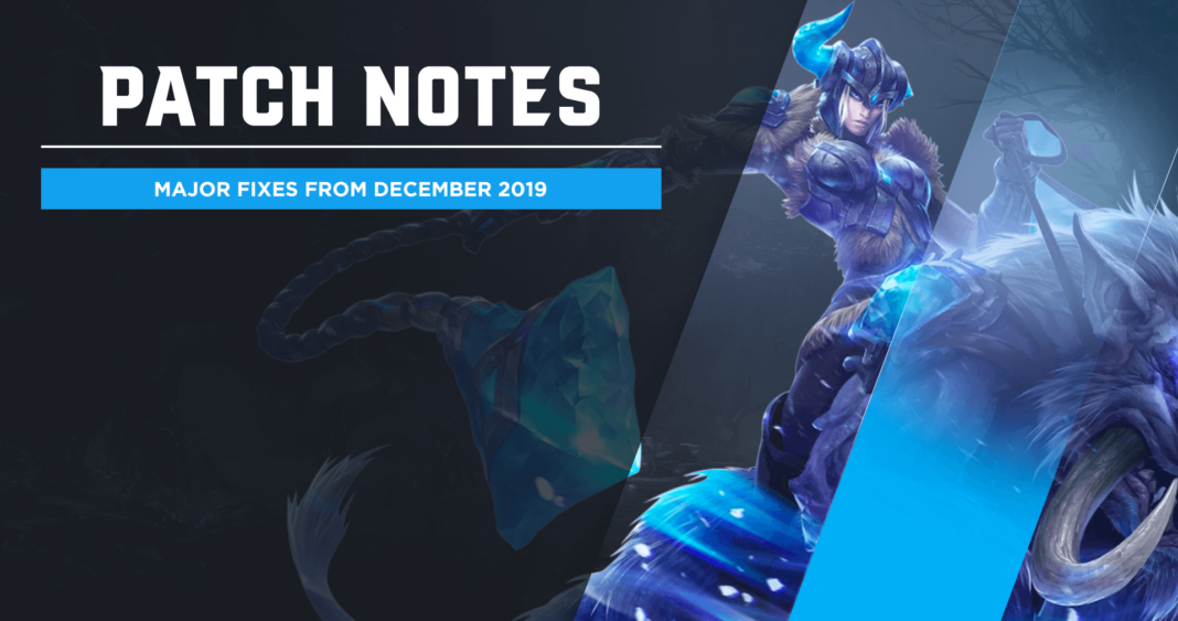Repeat patch notes