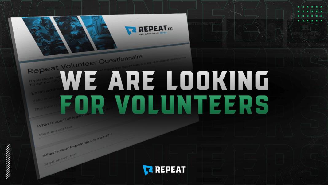 repeat volunteers