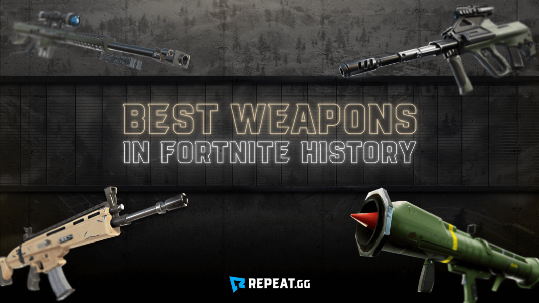fortnite weapons
